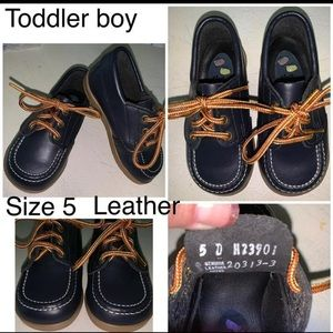 Baby /Toddler Boy 5 shoes Navy Boat